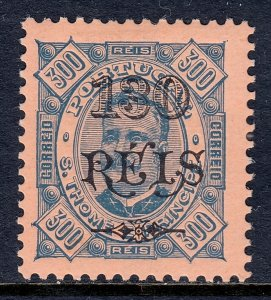 St. Thomas and Prince Islands - Scott #82 - MH - SCV $5.00