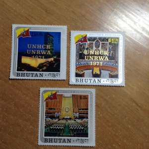Bhutan  # C24-26  MNH
