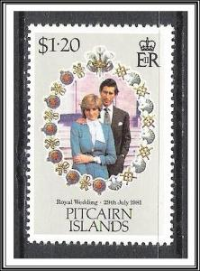 Pitcairn Islands #208 Royal Wedding MNH