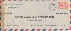 Dominican Republic 25c Posts and Telegraph Building, San Cristobal 1944 Santi...