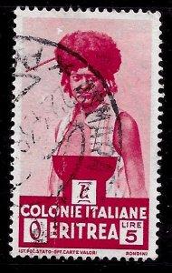 Eritrea # 166, Used. CV $ 6.50