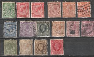 Great Britain Used George V