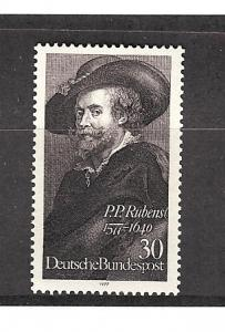 Germany, 1250, Peter Paul Rubens Single,**MNH**