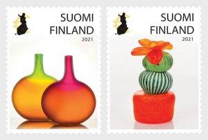 Stamps of Finland 2021.- Posti's Art Award 2021 - Set.