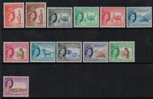 Somaliland 1953-58 SC 128-139 NH CV $139.15
