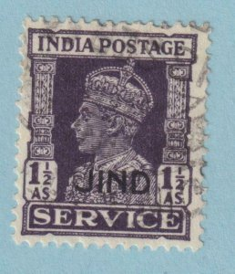 INDIA - JIND STATE O67 OFFICIAL  USED - NO FAULTS VERY FINE!