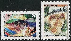HERRICKSTAMP HONDURAS Sc.# C1305-06 Jeanette Kawas Nat'l Park