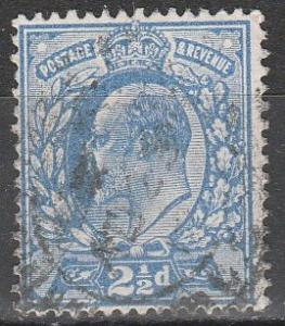Great Britain #131  F-VF  Used CV $11.50  (S8065)