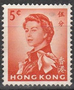Hong Kong #203 F-VF Used  (S7194)