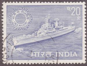 India 479 USED 1968 Frigate: Nilgiri, War Ship