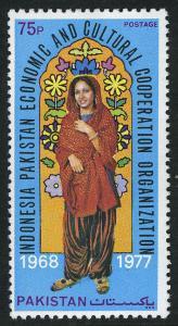 Pakistan 445, MNH. Woman from Rawalpindi-Islamabad, 1978