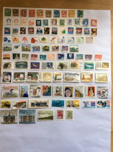 Canada 100 stamps - Lot D