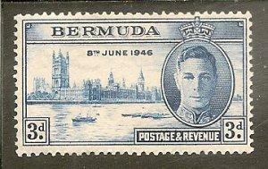 Bermuda   Scott 132   Peace   Unused