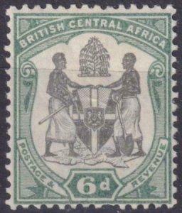 British Central Africa 1901 SC 48 MLH