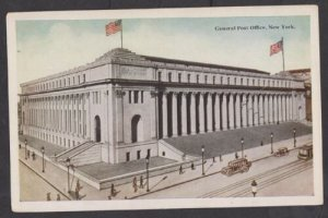 Unused Postcard: New York City – General Post Office