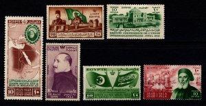 Egypt 1944-49 Various commemoratives [Unused]