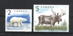 Canada #1690, 1693   -1  used VF   PD