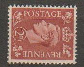 GB George VI  SG 506a wmk sideways mounted mint