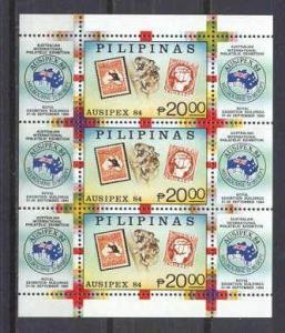 Philippines Mi.bl.26 MNH s/s Ausipex