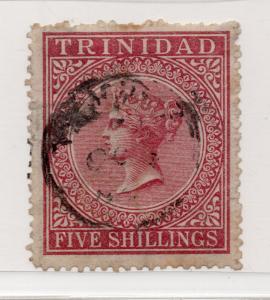 Trinidad - SG# 87 Used/ wmk crown CC/ Perf 12 1/2 - Lot 0318214
