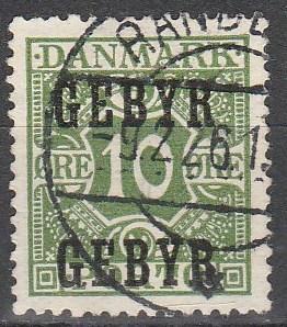 Denmark #I1  F-VF Used   CV $5.25 (V2824)