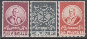 Vatican City 476-478 MNH VF