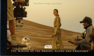 2017- GB - DY23 - STAR WARS  MAKING OF DROIDS,ALIENS & CREATURES - PRESTIGE BOOK