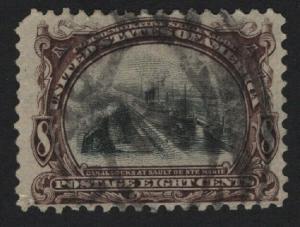 United States USED Scott Number 298 VF - BARNEYS