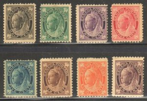 Canada #66 to 73 F-VF MINT Complete set C$1250.00 -- *MAPLE LEAF ISSUE*
