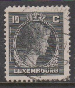 Luxembourg Sc#219 Used