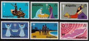 Anguilla #205-10 MNH Set - Christmas