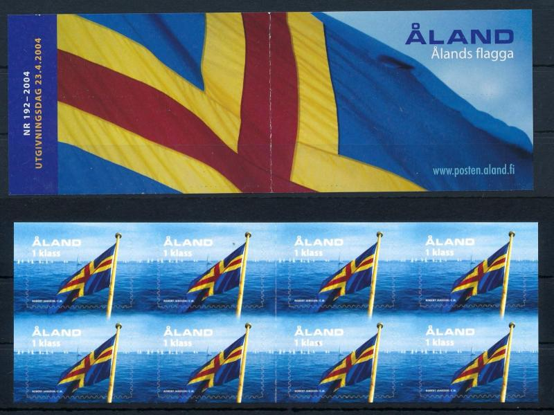 [58606] Aland 2004 National flag Booklet MNH