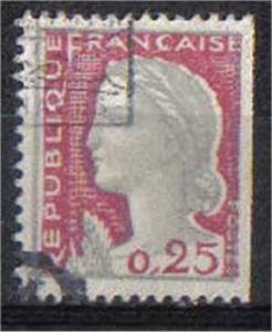 FRANCE, 1960, used 25c  SG968