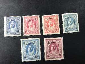 JORDAN # J24-J29-MINT/NEVER HINGED---COMPLETE SET--POSTAGE DUE--1929