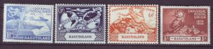 J22012 Jlstamps 1949 basutoland set mh #41-4 upu