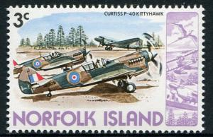 NORFOLK ISLAND 1980 - 3c MNH