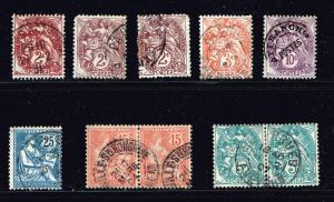 FRANCE STAMP USED STAMP COLLECTION LOT  #T3