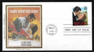 USA Scott 2446 Gone With The Wind Colorano First Day Cover FDC (z3)