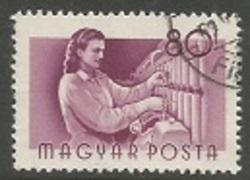 Hungary Scott #1125 Used - Textile Worker