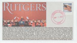 6° Cachets Rutgers 250th Commencement President Barack Obama keynote
