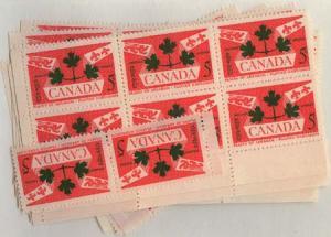 Canada - 1959 5c Plains of Abraham X 100 mint #388