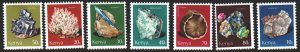 Kenya. 1977. 96-102 from the series. Minerals. MNH.