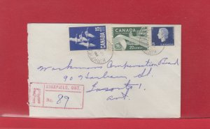 KIRKFIELD, ONT. Registered 1964 Canada cover Cameo