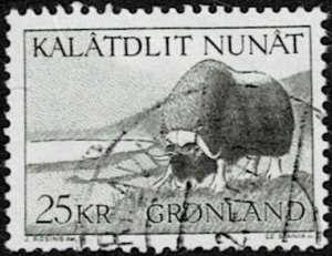 1969 Greenland Scott Catalog Number 75 Used