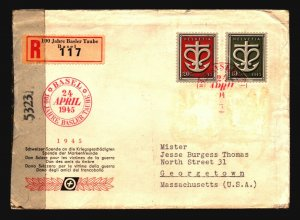 World Wide - 5 WW2 Censor Covers / Mixed Condition See Images - Z16246