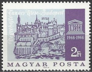 Hungary  1767  MNH  UNESCO 20th Anniversary