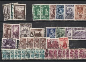 Austria Used + No Gum Stamps ref R 17043