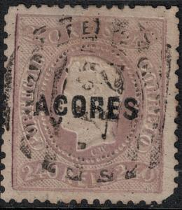 Azores SC 15 Used 1868 SCV$ 400