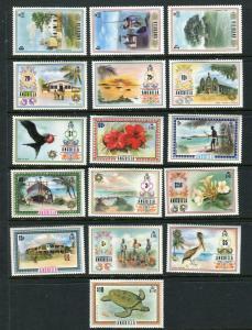 Anguilla #145-60 Mint