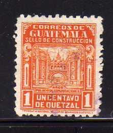 Guatemala RA22 Set U Arch of Communications Building (C)